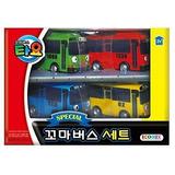 Pequeño Autobús Tayo Mini Especial 4 Piezas De Juguete
