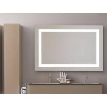 Espejo Decorativo Con Marco De Luz Led Infrarrojo 90x50cm