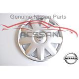 4x Tapas Rin Polvera Rin 14 Platina 02-10 Nissan Original