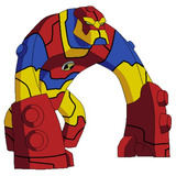 Ben 10 Omniverse Figura Bloxx 36020 Original Delicias3