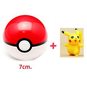 Oferta! Pokebola 7cm + Pikachu Precio Comerciante! Pokémon