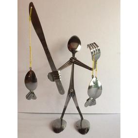 Cubiertos De Cocina Hechos Figura Muy Original Para Decorar