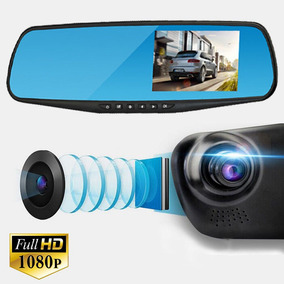 Retrovisor Com Camera De Ré E Filmadora Frontal Full Hd 1080