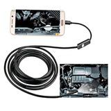 Sonda Câmera Inspeção Boroscopio Celular Android Pc Usb 5met