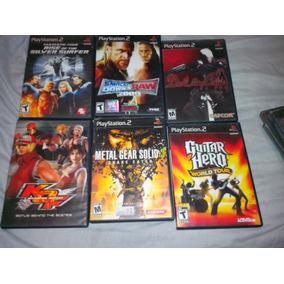 Juegos Ps2 + Dvd Kof
