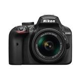 Cámara Digital Réflex Nikon D3400 Con Lente Af-p Dx Nikkor 1