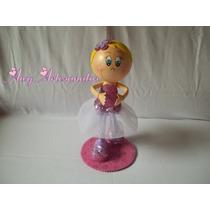 Boneca Bailarina Rosa E Lilás Eva