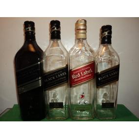 Lote De Botellas Vacias De Whisky Johnny Walkers