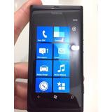 Nokia Lumia 800 16gb Windows 7.5 8mp - Tela De Demonstração