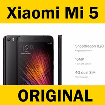 Original Xiaomi Mi 5 Mi5 Global Negro Cristal Black