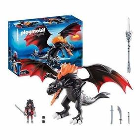 Playmobil 5482 Dragón Negro Gigante Con Luz Led