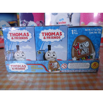 Huevo Sorpresa Tipo Kinder Thomas Y Sus Amigos 6pz Chocolate