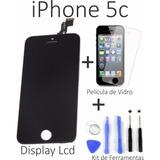 Display Tela Touch Iphone 5c Lcd + Película + Ferramentas