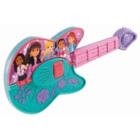 Fisher-price Dora Y Amigos Play It Two Ways Guitarra