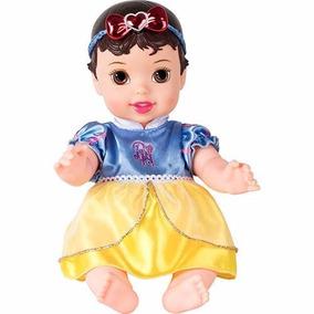Boneca Baby Princesa De Vinil Branca De Neve - Mimo 6407