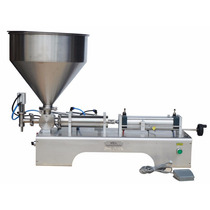 Maquina Llenadora De Liquidos Viscosos 10ml A 300ml 110v
