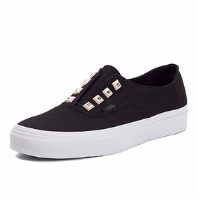 Tenis Vans Casual Authentic Vn-0a38etmsy Negro Estoperoles