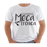 Blusa Camiseta Camisa Engenharia Mecatronica Curso Faculdade