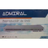 Reproductor De Dvd Admiral Usb Tarjetas Sd Dv-5301