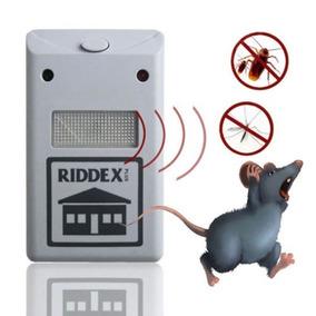 Repelente Eletrônico Sonoro Rato Baratas Zika Dengue Morcego