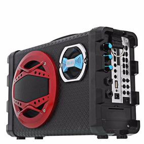 Caixa De Som Amplificada Bluetooth Radio Fm Usb