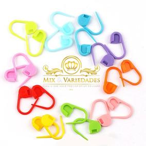 20 Marcadores Alfinetes De Plástico Para Crochê E Tricô