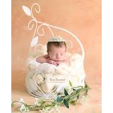 Porta Joia Floral Newborn Fotos Newborn, Artigos Newborn
