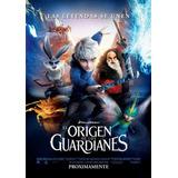 Poster Original Cine El Origen De Los Guardianes