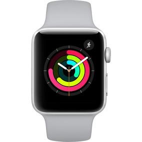 Apple Watch Série 3 42mm Mql02ll Silver/prata Novo Original