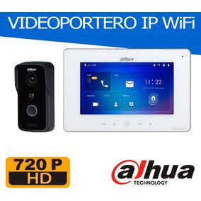 Videoportero Ip Wifi Dahua Pantalla 7 - App Cel - El Mejor