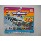 Micro Machine Famous Planes.