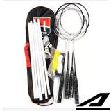 Kit Badminton 4 Raquetes 2 Petecas Rede Melhor Preço - Hyper