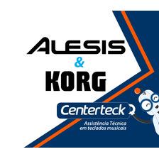 Assistência Técnica Serviço Reparo Teclado Alesis E Korg