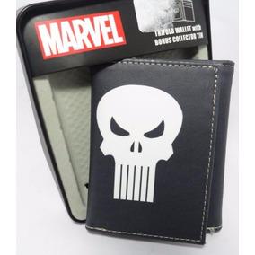 Carteira Marvel Trifold Couro Legítimo