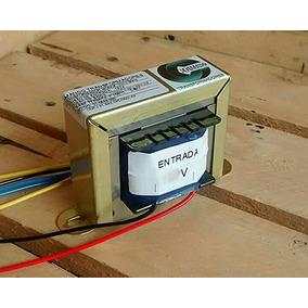 Transformador (trafo) 110v / 220v - Saída 12-0- 12v 5a