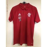 Camisa Polo Original Comissão Técnica Do Flamengo 2017