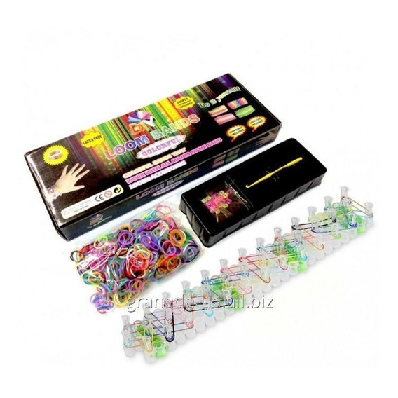Loom Bands Kit Telar 600 Gomitas