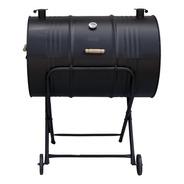 Churrasqueira A Bafo Grill Tambor E Termômetro 200l C/ Rodas