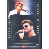 Dvd George Michael & Elton John And Friends Live In Wembley