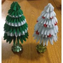 Orgami Modular Arvore De Natal