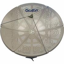 Antena Parabólica Perfurada 1,50m Banda C E Ku Gigasat