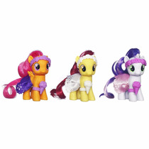 My Little Pony Crusaders Scootaloo Apple Sweetie Sin Blister
