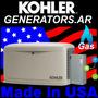 Grupo Generador Electrico Kohler Gas Visita Técnica Asesoria