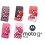 Capa Capinha Carteira Feminina Motorola Moto G4 Plus P/vidro