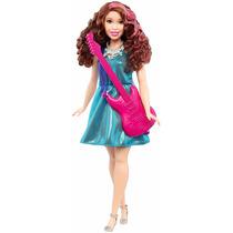 Lançamento Barbie Carreiras Pop Star Quero Ser Ruiva Curvy