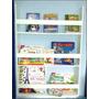Prateleira Porta Livro Revistas Infantis Suspensa 100x60x10
