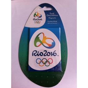 Ímã: Logo Oficial Das Olimpíadas Do Rio De Janeiro 2016