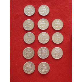 Moneda 25 Centavos Plata Balanza (13 Arras)