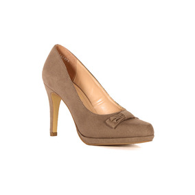 Trender Zapatilla En Color Beige