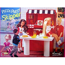Juguete Barbie Pizza Party! Patrón Pizza Shop Playset (1995